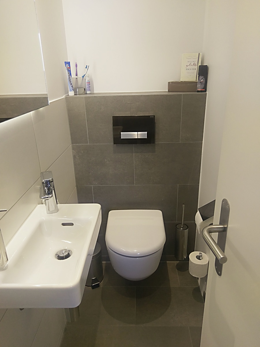 BilBadrenovation – separates WC Geberit Duo-Freshd